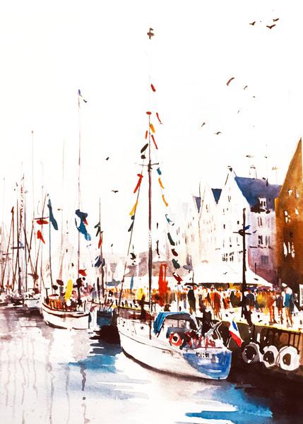 Nw Bergen Norway 2 Art | Steven Dragan Fine Art