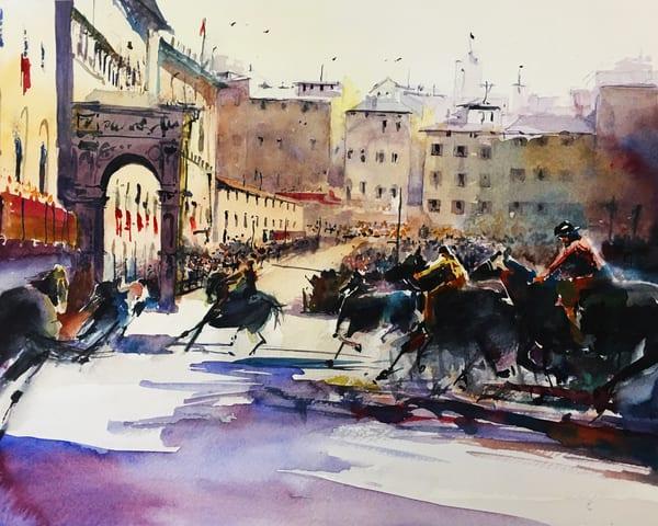 Palio Di Siena Art | Steven Dragan Fine Art