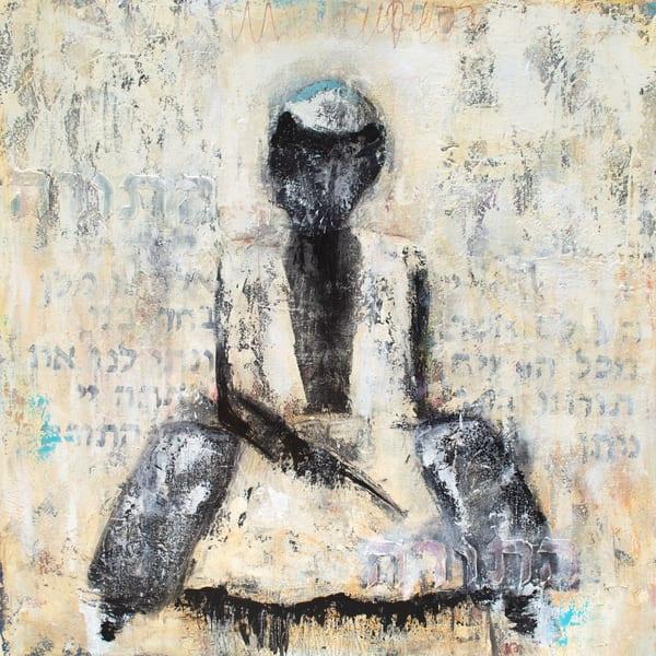 Reading Torah | Fine Art Print Art | Southern Heart Studio, LLC