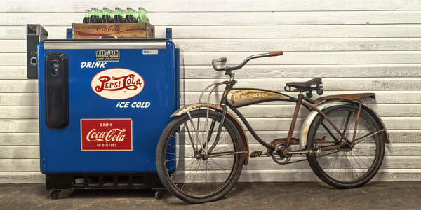 Ice Cold Hot Rocket Photography Art | Ken Smith Gallery