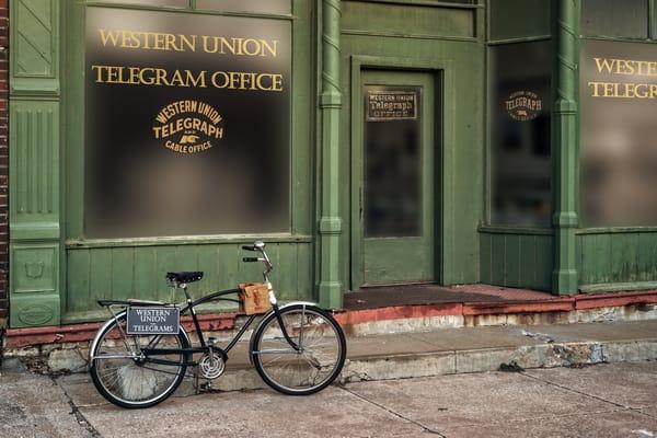 Western Union Telegram Photography Art | Ken Smith Gallery
