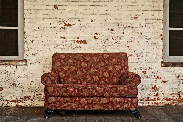 Loveseat Photography Art | Ken Smith Gallery