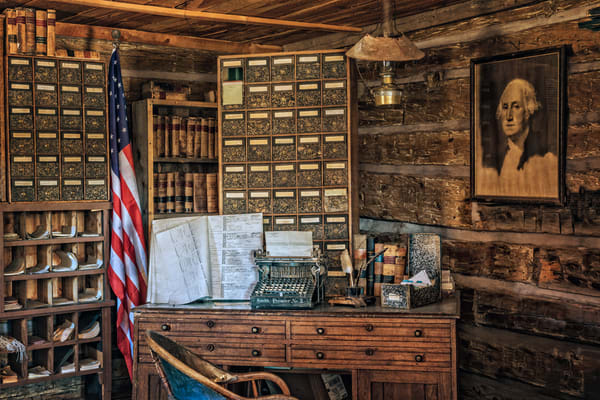 Old West Courthouse Photography Art | Ken Smith Gallery