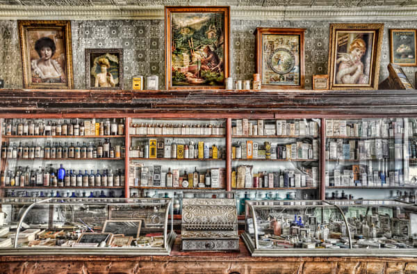 The Drug Store Counter Photography Art | Ken Smith Gallery