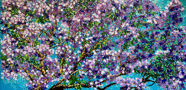 In Full Bloom   Original Oil Painting Art | Tessa Nicole Art