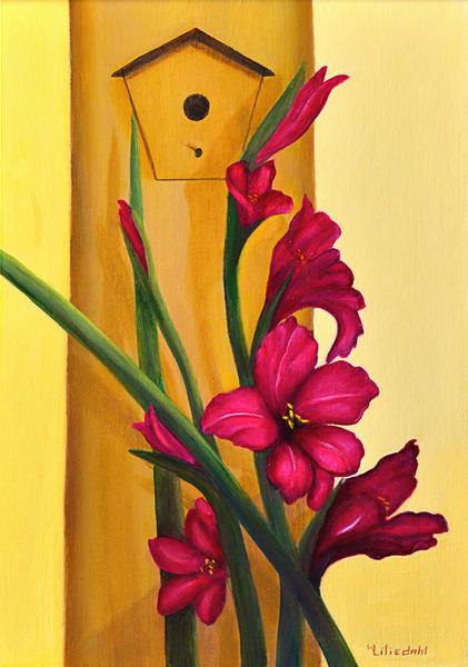 Gladiolus Art   Liliedahl Art