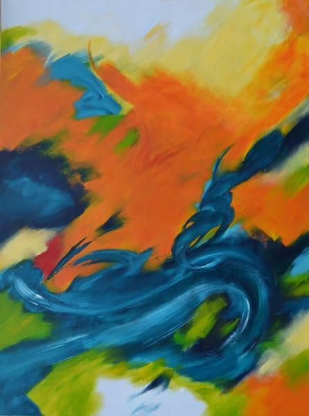 Evolution Orange Art | New Orleans Art Center
