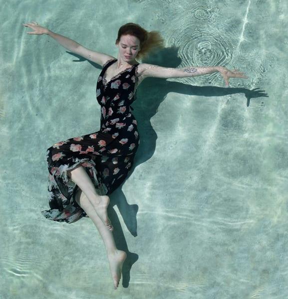 Violet Underwater Photography Art | Dan Katz, Inc.