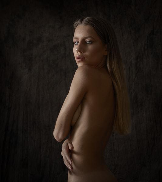 Alina Looking Back Photography Art | Dan Katz, Inc.