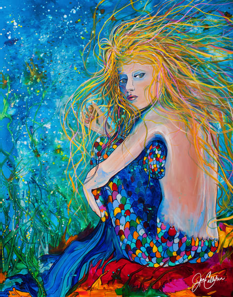 Mermaid Depth Art | jenartworkgallery