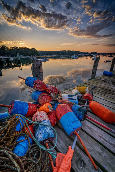 On The Dock at Sunrise | Shop Photography by Rick Berk