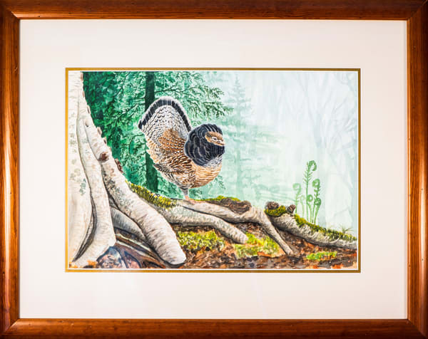 Ruffed Grouse Photography Art | Drew Smith Photography, LLC
