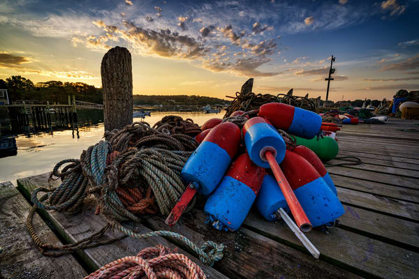 Buoys and Line | Shop Photography by Rick Berk