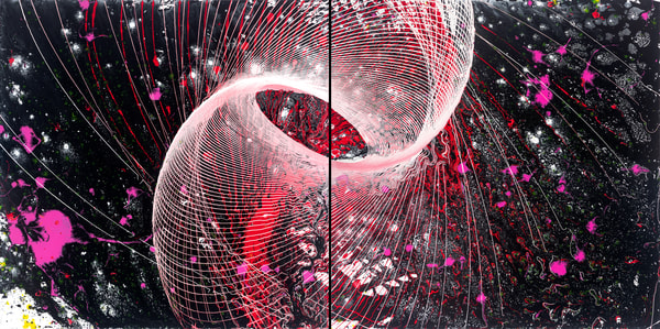 String Theory  Art | Otto Thorsen Art