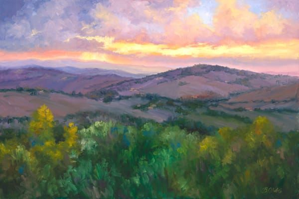 Dreams Of Tuscany Print Art | B. Oliver, Art