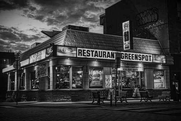 Restaurant Greenspot - Prints