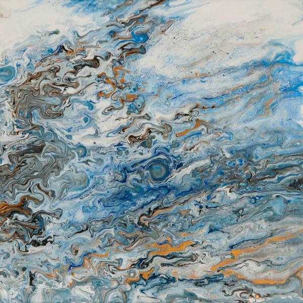 Rainstorm Through A Window   Original Art | Black Mountain Gallery