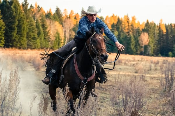 Fine Art Western Photography | Full Speed