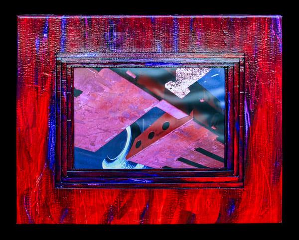 original art devil's wings wildfire-art flames jackie-robbins-studio buy-art-online