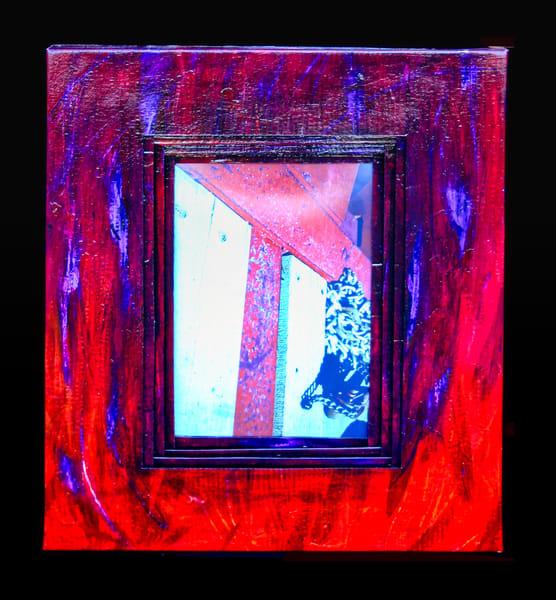 original art crucifixion wildfire-art flames jackie-robbins-studio buy-art-online