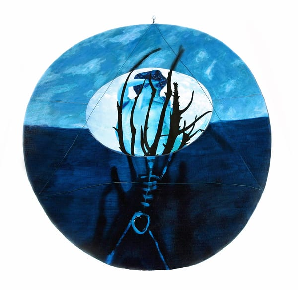 original-artwork mixed-media circular jackie-robbins-studio buy-art-online