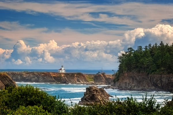 Cape Arago Lighthouse Photography Art | Ken Smith Gallery
