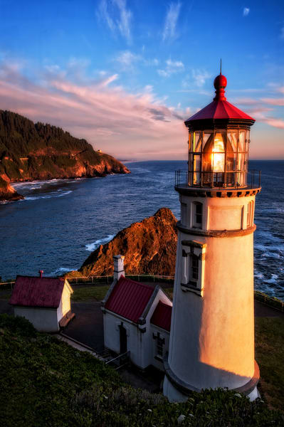 Heceta Head Lighthouse Photography Art | Ken Smith Gallery