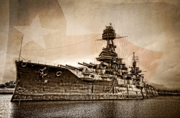 Uss Texas Photography Art | Ken Smith Gallery