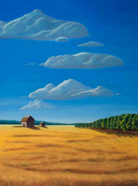 Out Standing In Their Field Art | The Art of David Arsenault