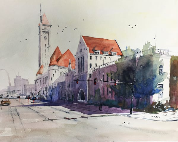 Stl Union Station Art | Steven Dragan Fine Art