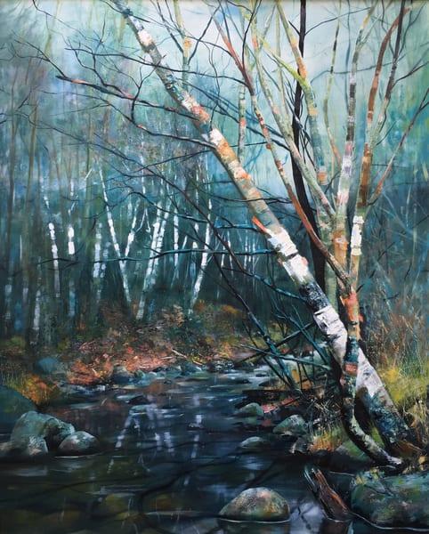 Birch Trees Art | MANTHA DESIGN