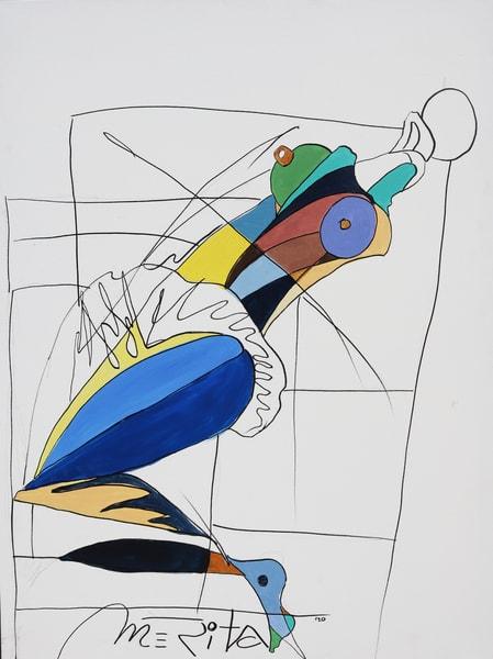 Contemporaneity Woman Art   Merita Jaha Fine Art