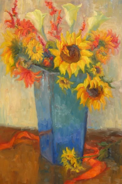 Bouquet Of Sunshine Art | B. Oliver, Art