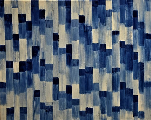 Urban Blue Art | Martsolf Lively Contemporary