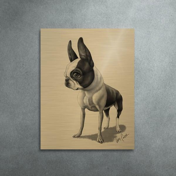 The Gentleman (Gold Finish) Art | BunnyPigs