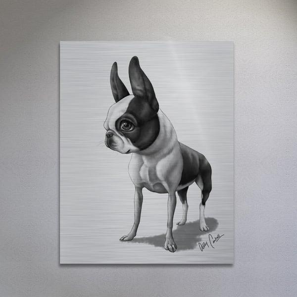 The Gentleman (Silver Finish) Art | BunnyPigs