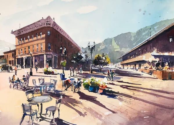 Aspen Downtown 1 Art | Steven Dragan Fine Art