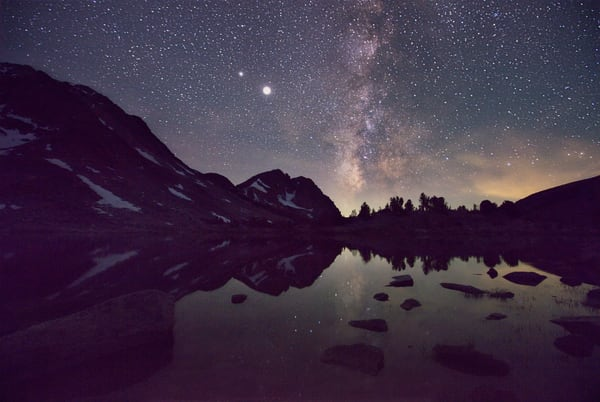 Milky Way Mirror Art | Chad Wanstreet Inc