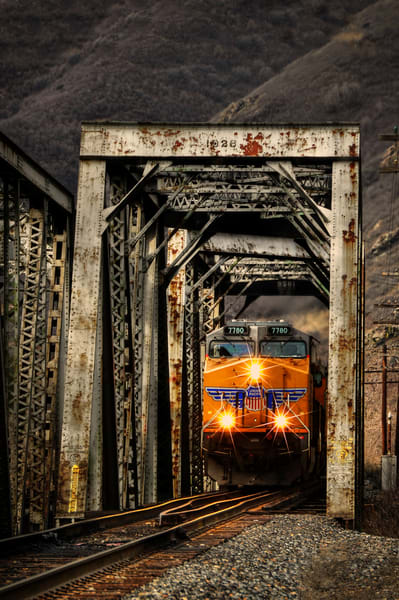 Golden Our Crossing Photography Art | Ken Smith Gallery