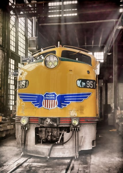 951 In The Roundhouse Photography Art | Ken Smith Gallery