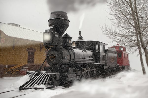 Arriving At The Station Photography Art | Ken Smith Gallery