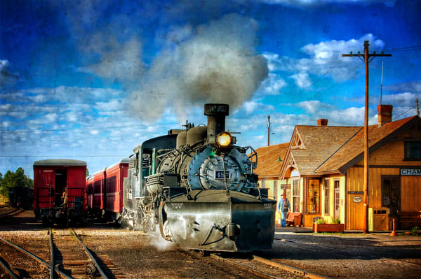 Morning At The Station Photography Art | Ken Smith Gallery