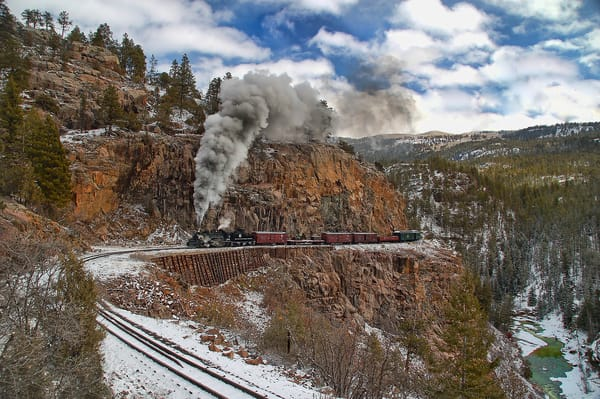Mixed Freight On The Highline Photography Art | Ken Smith Gallery