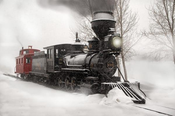 Narrow Gauge Winter Photography Art | Ken Smith Gallery