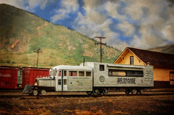 Rio Grande Southern Galloping Goose 5 Photography Art | Ken Smith Gallery