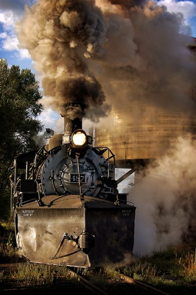 Steam In Chama Photography Art | Ken Smith Gallery