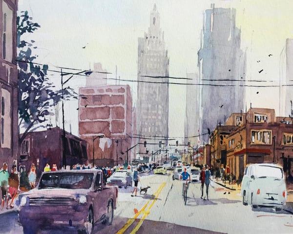 Kc Crossroads District 1   Limited Edition Signed Print   16x12 Art   Steven Dragan Fine Art