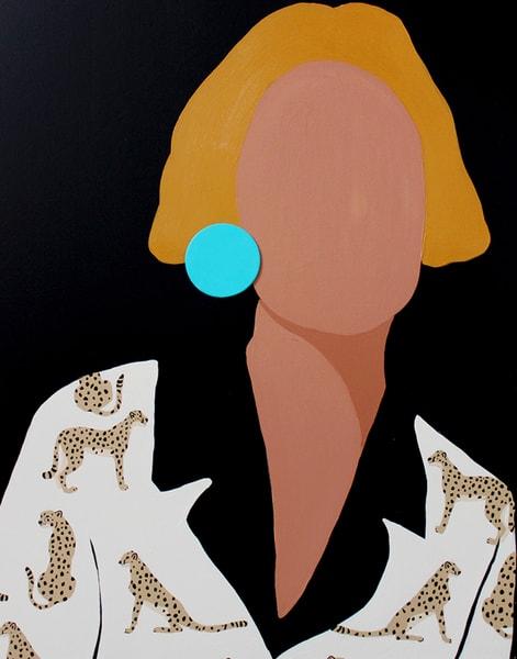 Cheetah Girl Art | Meredith Steele Art