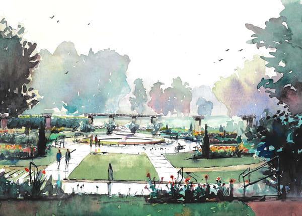 Kc Loose Park Garden 1 Art | Steven Dragan Fine Art