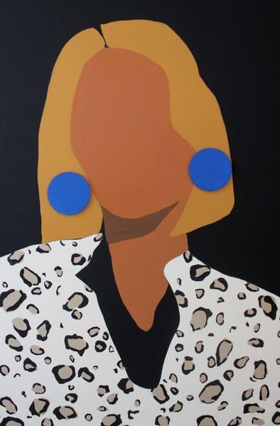 Leopard Lady Art | Meredith Steele Art
